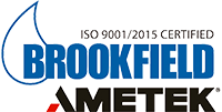 AMETEK Brookfield Logo with ISO Image 2x1